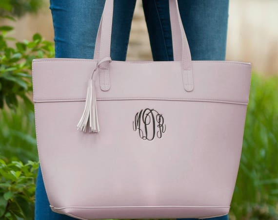 Aubrey Purse in Blush Pink
