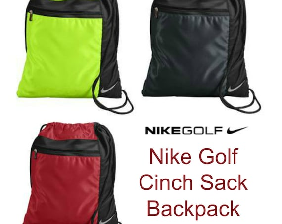 Nike Golf Cinch Sack in 3 Colors