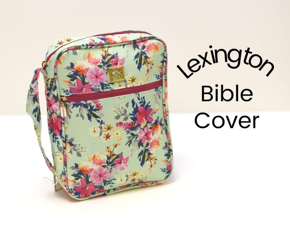 Monogrammed Lexington Floral Bible Cover