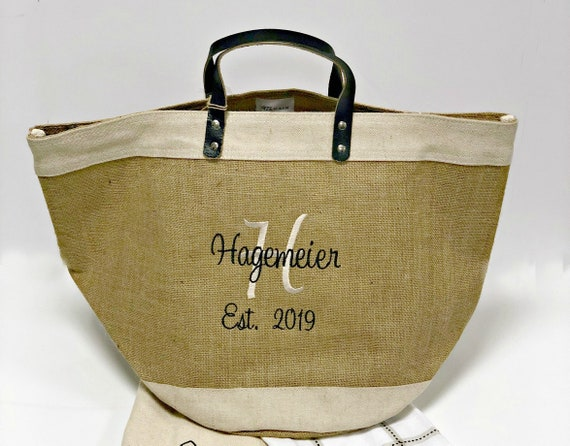 Burlap Tote with Food Grade Liner