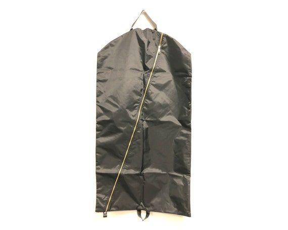 Black Brass Garment Bag