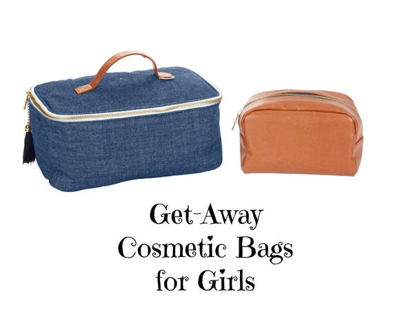 Get-Away Cosmetic Bag Set for Girls