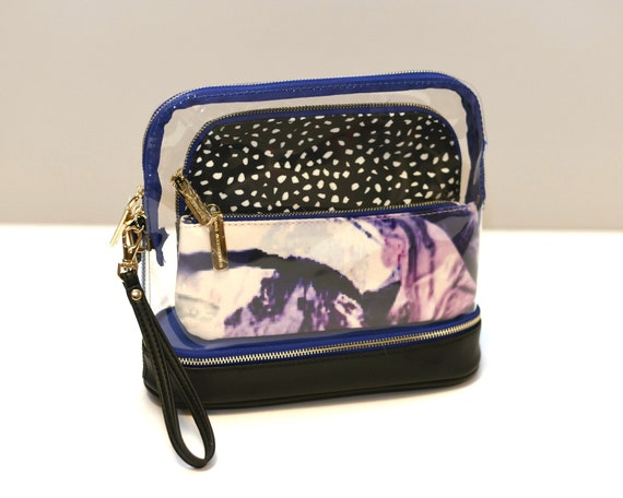 Millie Marble 3-in-1 Cosmetic Bag