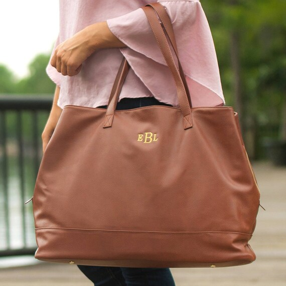 Cambridge Travel Bag in Camel