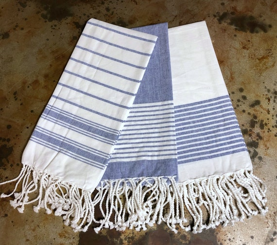 Set of 3 Dish Towels with Monograms
