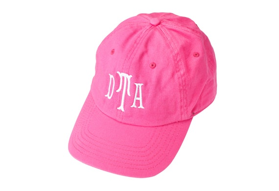 Baseball-Style Cap in Hot Pink
