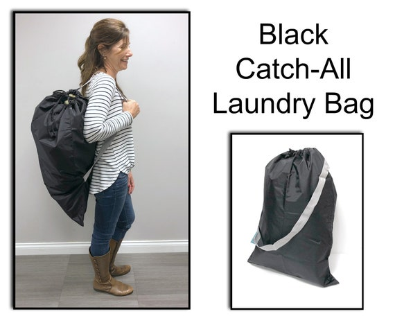 Black Catch All (or Laundry Bag!)
