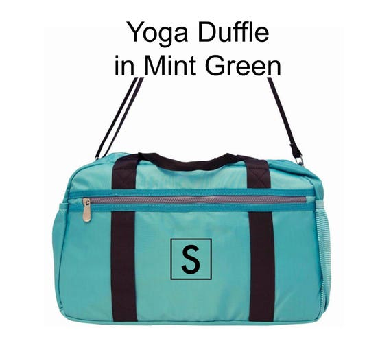 Yoga Duffle in Mint Green