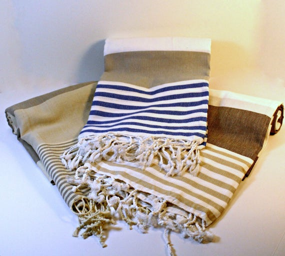 Turkish Beach Towels in 3 Colors