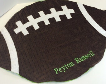 Football Blanket for Babies