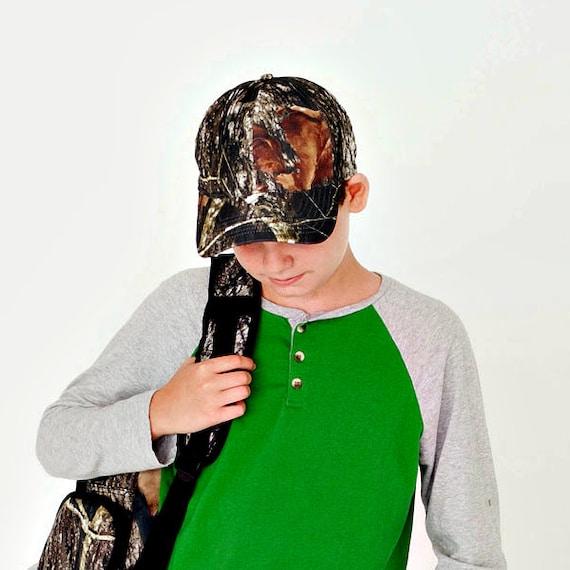 Baseball-Style Cap in Camo