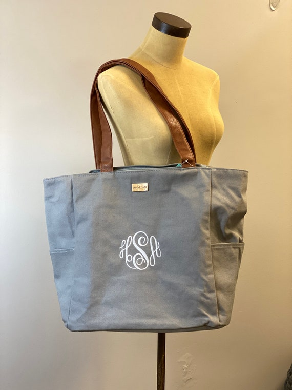 Play-on-Gray Tote