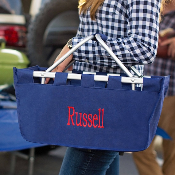 Large Market Tote in Navy