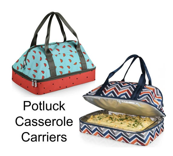Potluck Casserole Tote in Two Designs