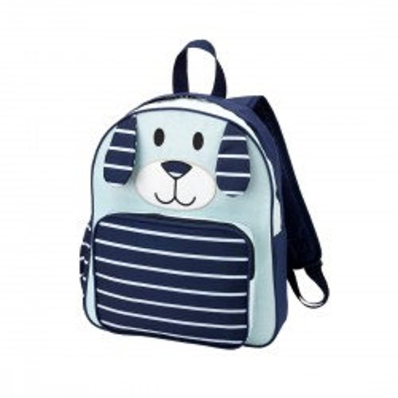 Blue Puppy Backpack