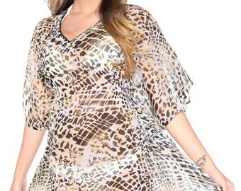 b7589e3dc04 La Leela Women's Swimsuit Swimwear Cover up Bathing Suit For WOMEN Hawaii  Miami Resortwear Dress - 108063