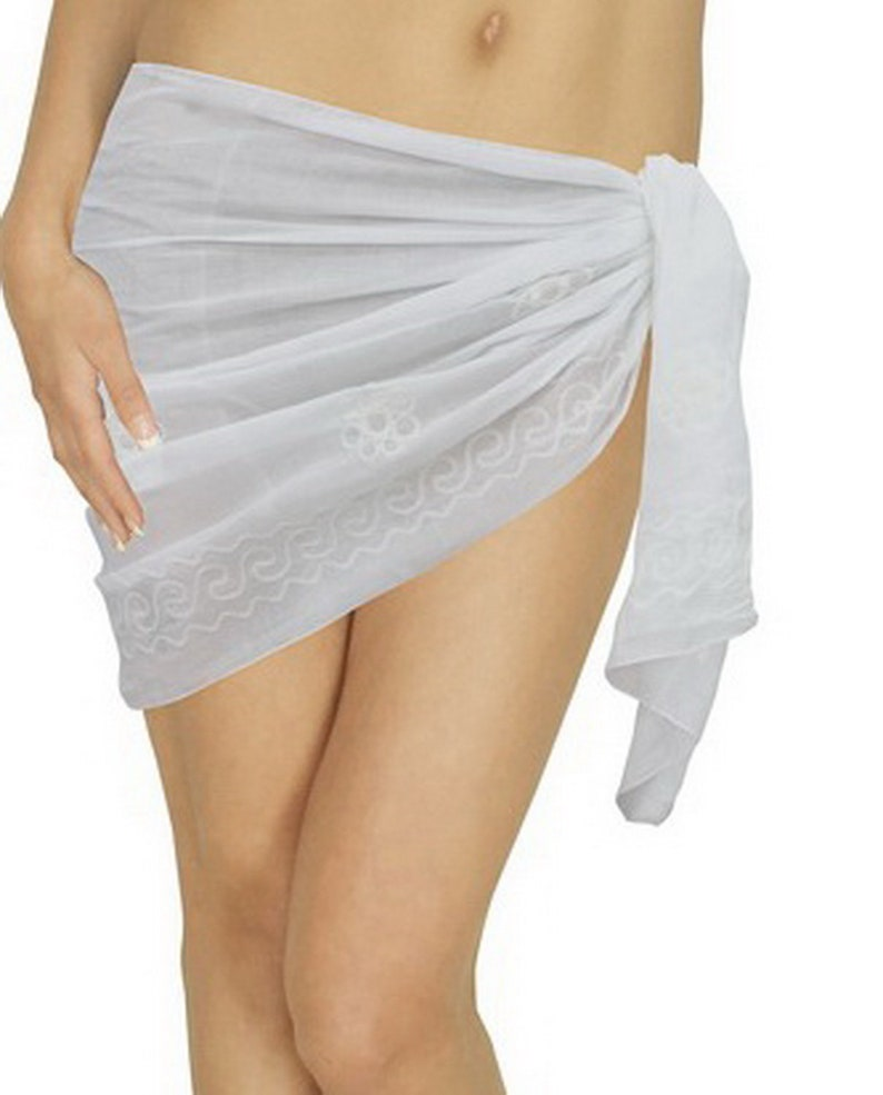 2efd337a98 La Leela Cotton Swimsuit Pareo Towel Women Sarong Solid   Etsy