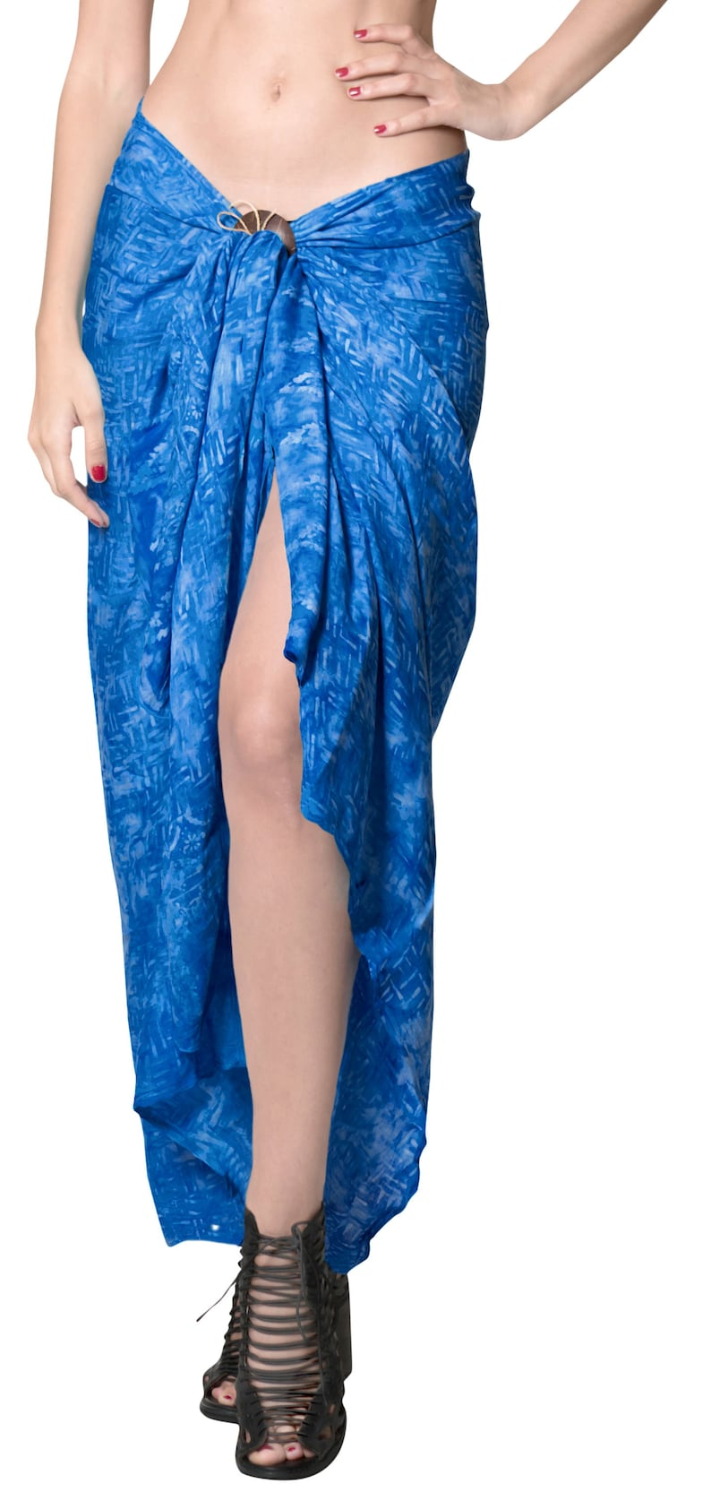641eee625b La Leela Rayon Hawaiian Beach Dress Wrap Sarong Printed Pareo | Etsy
