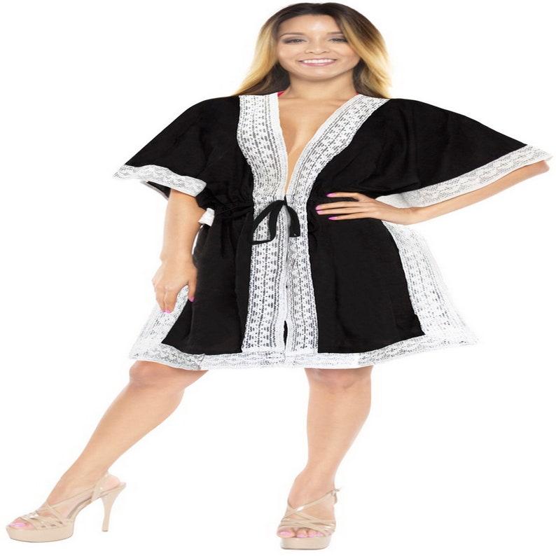 9c1af9659d LA LEELA Swimsuit Beach wear Bikini Cover up Women Summer | Etsy