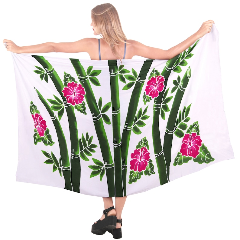 1312ef2b67 La Leela Beachwear Wrap Bathing Suit Pareo Skirt Swimwear | Etsy