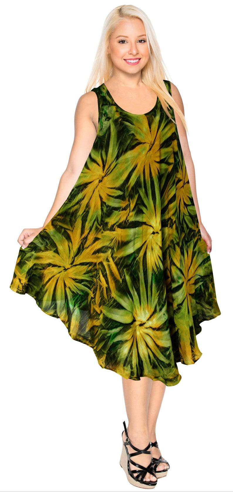 4e9c1919d7d5 La Leela Women's Evening Beachwear Tie Dye Bikini Swimwear | Etsy