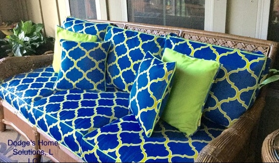 Custom Cushion Covers With Zipper Cushion Replacement Covers Etsy