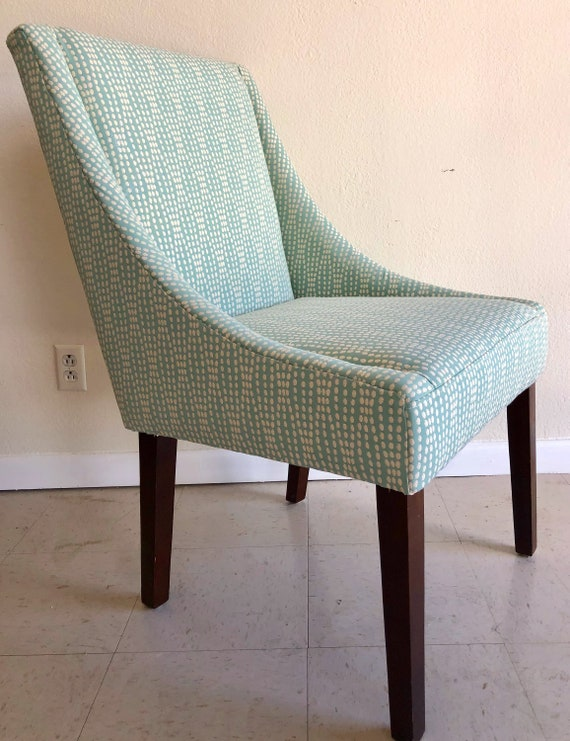 upholstered wingback dining chairs farmhouse chic image upholstered wingback dining chairs available for upholstery etsy