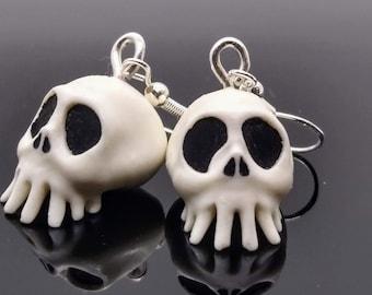Haunted Mansion Nightmare Before Christmas skull earrings