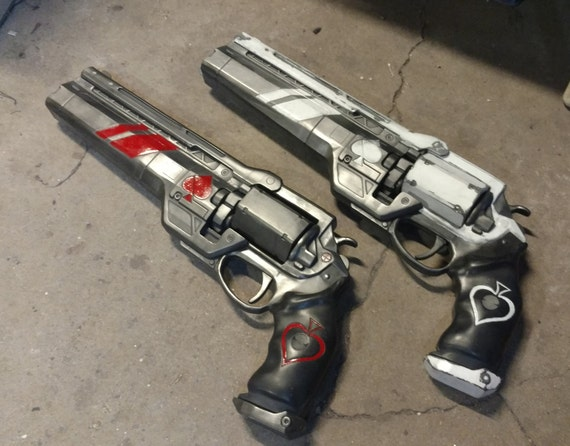 840545a1fad Destiny 2 Ace of Spades exotic handcannon life size finished