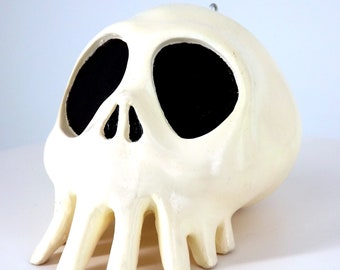 Medium Haunted Mansion Nightmare after Christmas inspired skull