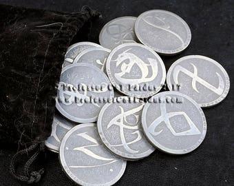 Mortal Instruments ShadowHunters Rune Coins.