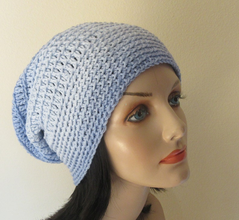 e8c065153 Large Blue Slouchy Beanie, Slouch Hat, Cold Weather Accessory, Gender  Neutral Slouchy Hat, Hockey Mom, Hockey Dad, Ice Skating, Snow Palying