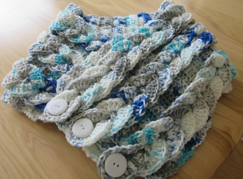 Braided Cowl Crochet Braided Cowl Braided Scarf Fashion Etsy