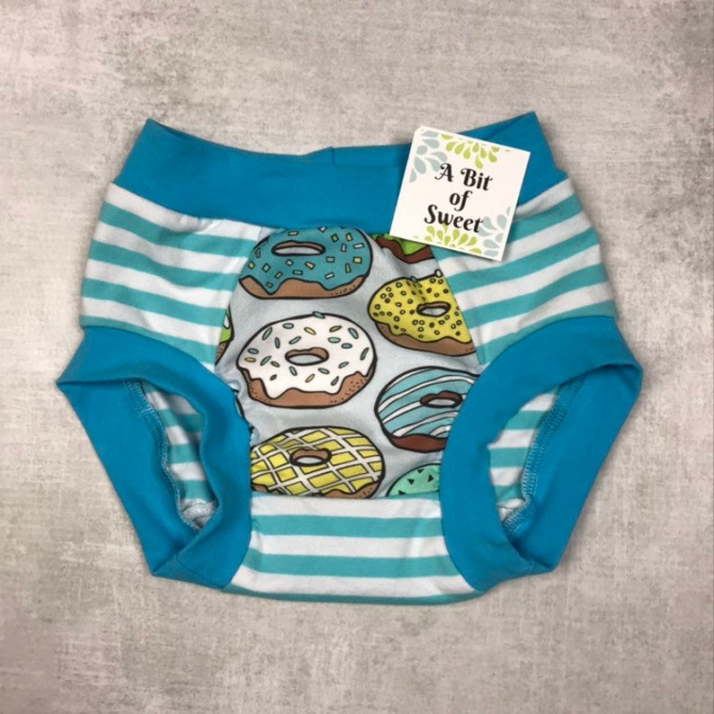 Aqua Donuts Trainer Underwear or Big Kid Undies