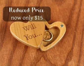 DISCONTINUED - REDUCED PRICE Heart Shaped Box,