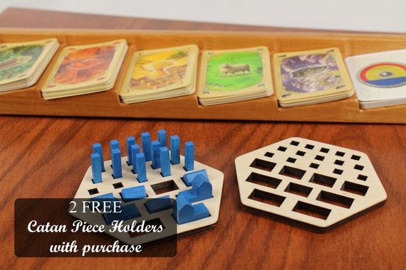 85f03c1b ... game piece holders · Settlers of Catan Resource Card Holder, With 2  Free Piece Organizers, Card Organizer,