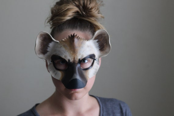 Image result for woman with hyena mask