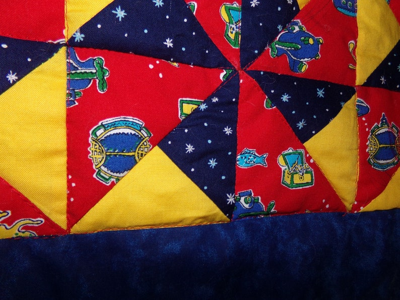 Baby Quilt for a Little Pirate!