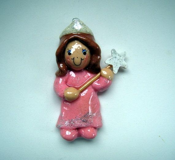 princess ornament handmade bread dough by judy caron