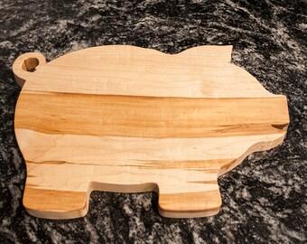 Pig Cutting Board