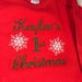 Christy Smith reviewed First Christmas Gown, Red Gown, Green Gown, Baby;s first Christmas, First Christmas,
