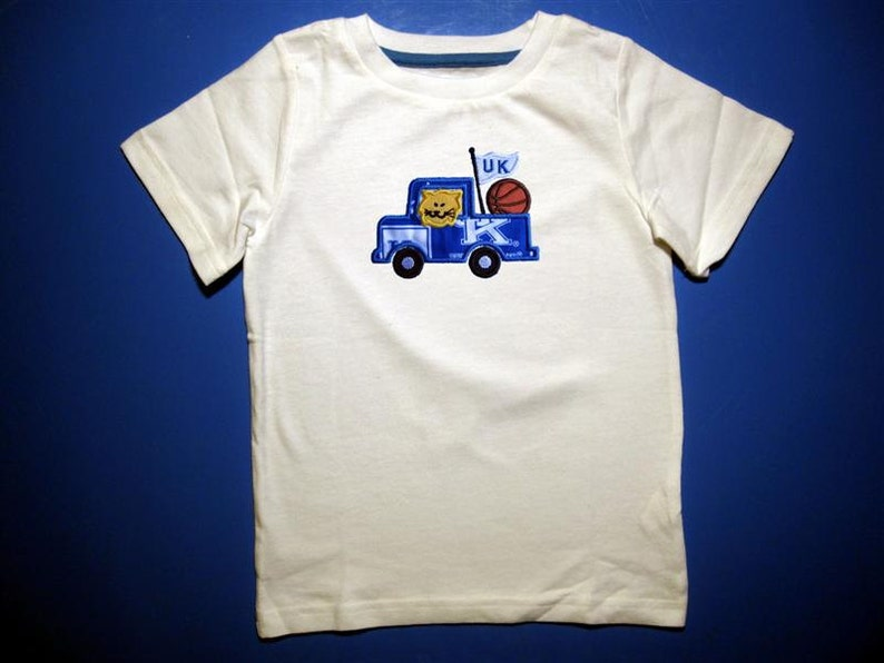 Baby one piece or  toddler tshirt  Embroidery and appliqued image 0