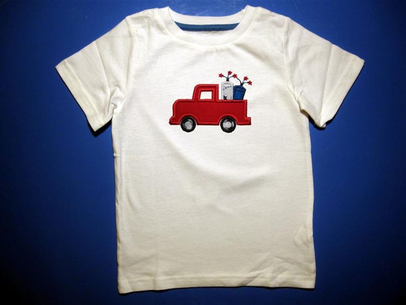 Baby one piece or  toddlers tshirt.  Embroidery and appliqued image 0