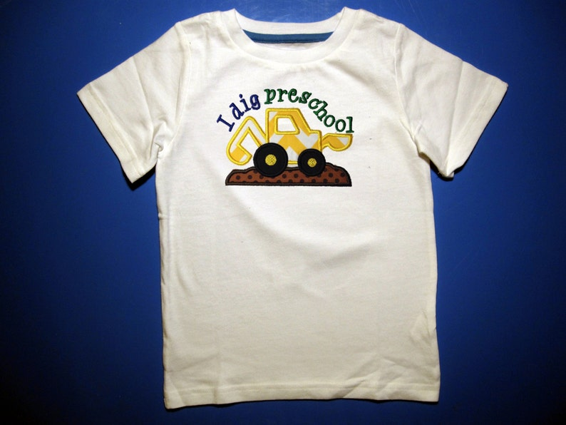 Baby one piece or toddler t-shirt  Embroidery and appliqued image 0
