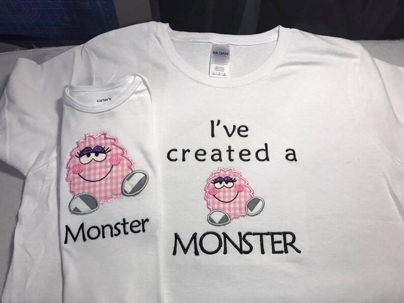 I've  created a monster mom tee shirt child tee shirts image 0