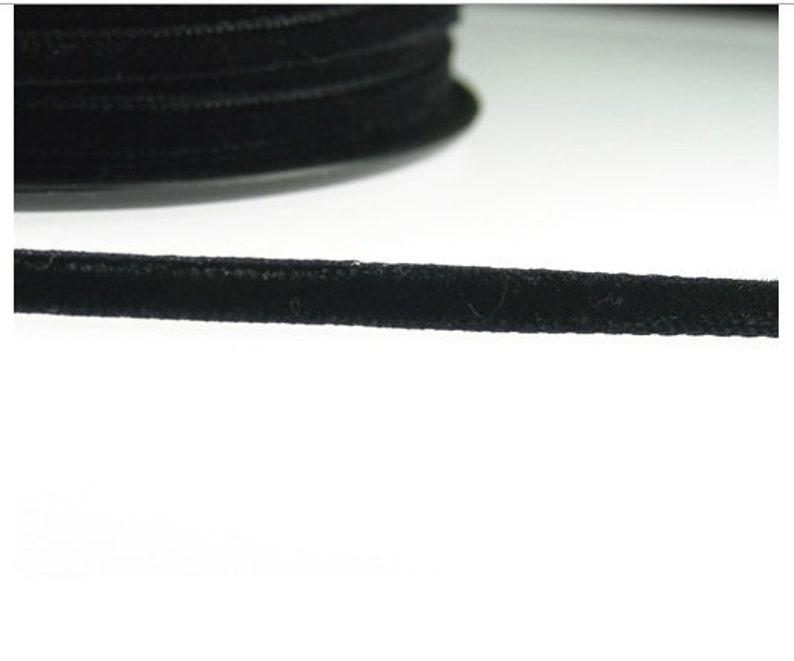Black Velvet Ribbon 3mm 10mm 15mm 25mm Rolls /& Metres Great Quality Ribbon