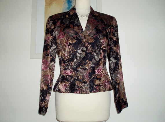Gorgeous floral occasion jacket from Monsoon Twili