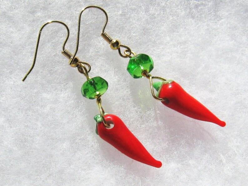 Christmas Earrings Secret Santa Gift for Women Christmas image 0