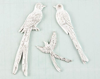 Prima, Shabby Chic Treasures, Birds, Scrapbooking, Card Making, Mixed Media, Scrapbooking Embellishment