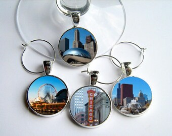 My Kind of Town...Chicago Wine Charms